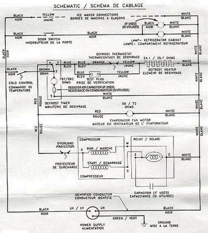 Refrigerator understanding fridge wiring diagram home wiring diagram for amana refrigerator wiring diagram wiring diagram asfbconference2016 Choice Image