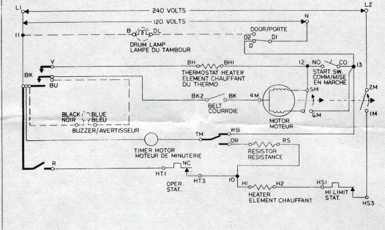 Best Ge Dryer Motor Wiring Diagram Pictures Inspiration