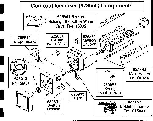 Ge Profile Refrigerator Repair Manual