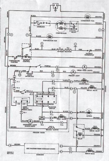electrical circuit diagram of refrigerator electrical basic wiring diagram of refrigerator basic image on electrical circuit diagram of refrigerator
