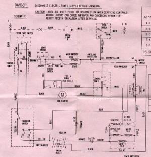Appliantology Archive: Washer and Dryer Wiring Diagrams