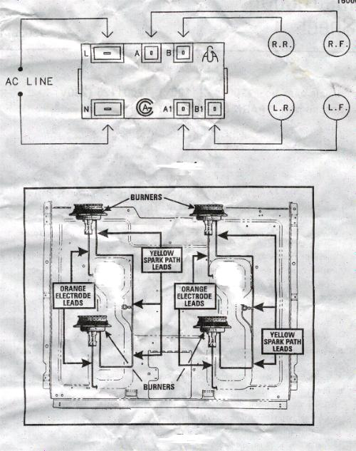 Oven Diagram Gas Amana Wiring