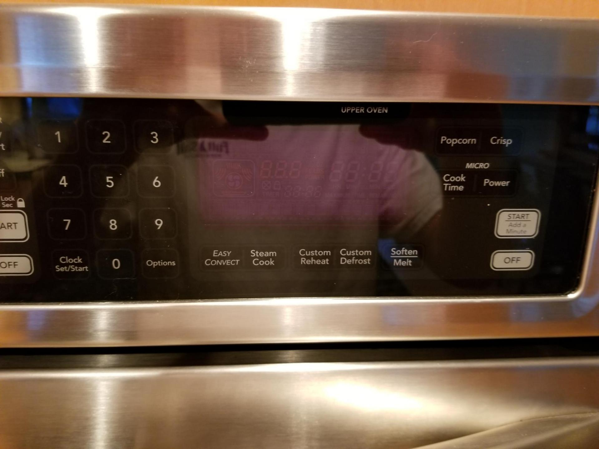 kems308sss05 oven microwave combo quick