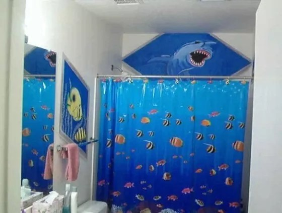 Charmant Kids Bathroom Decor Fish Appliance In Home