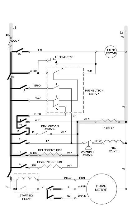 wiring diagram for ge dishwasher  toyota solara fuse box
