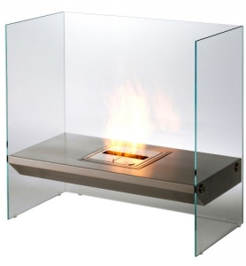 The Eco Friendly Eco-Smart Igloo Ethanol Burning Fireplace