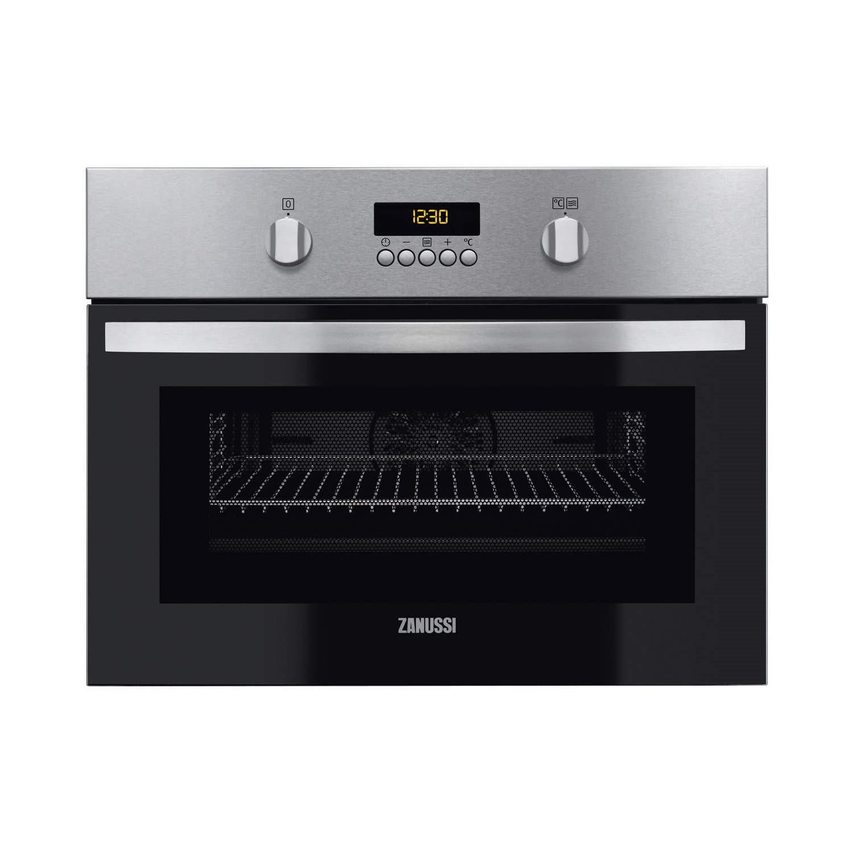 zanussi zkc44500xa built in combination microwave oven stainless steel