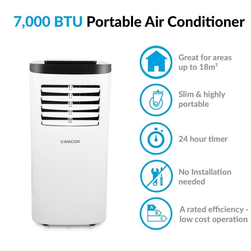 Amcor Sf8000e Portable Air Conditioner