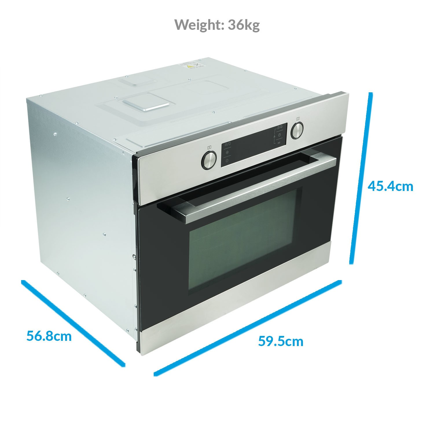 microwave and oven combo dimensions