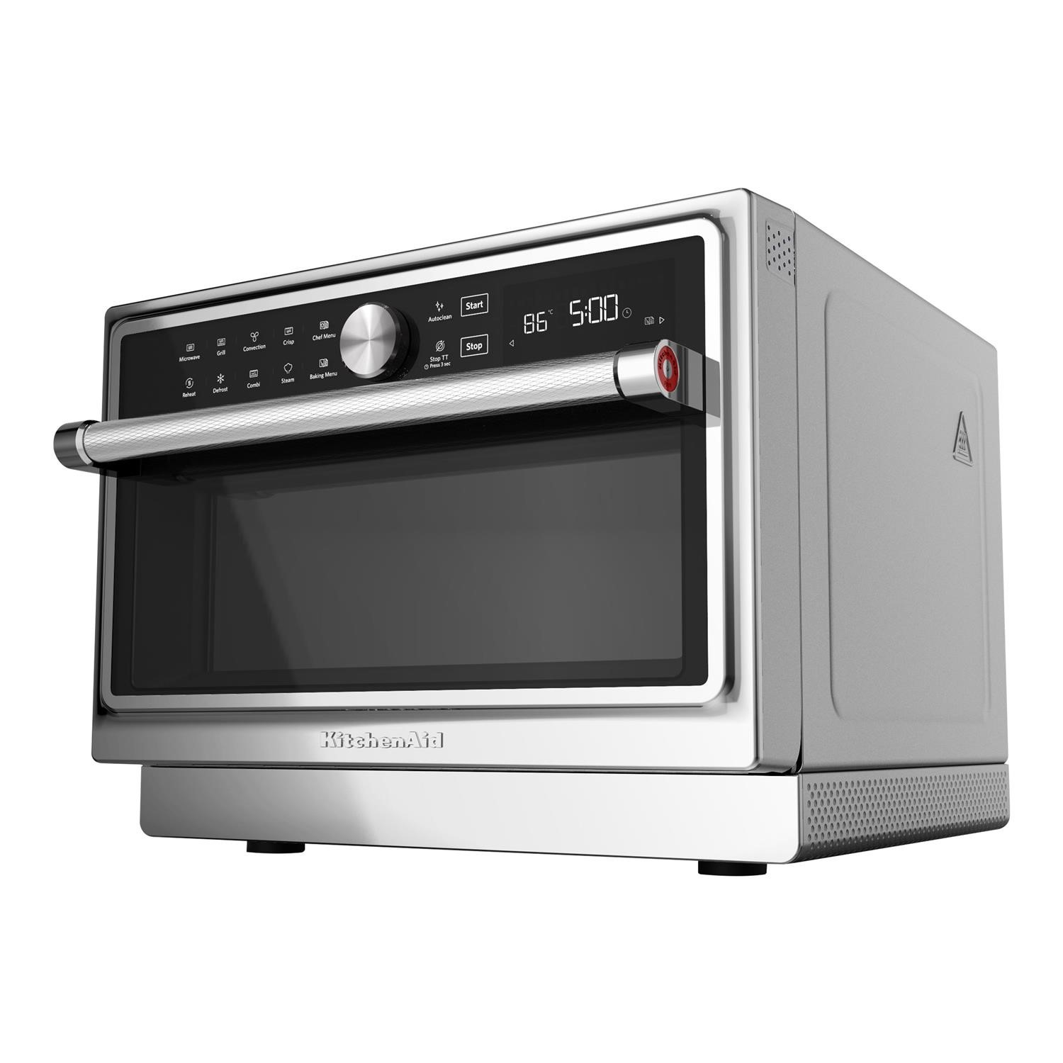 kitchenaid kmqfx33910 33l freestanding combination microwave oven stainless steel