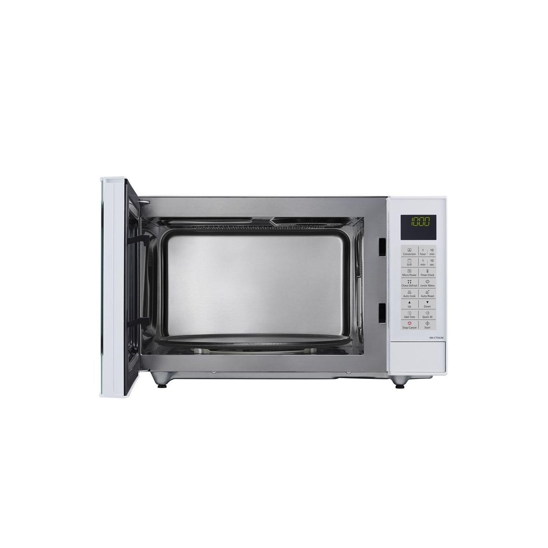 panasonic nn ct54jwbpq 27l combination microwave oven white