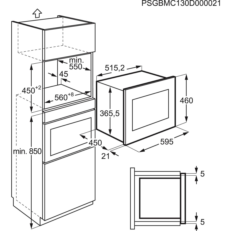 zanussi zsc25259xa built in microwave oven anti fingerprint stainless steel