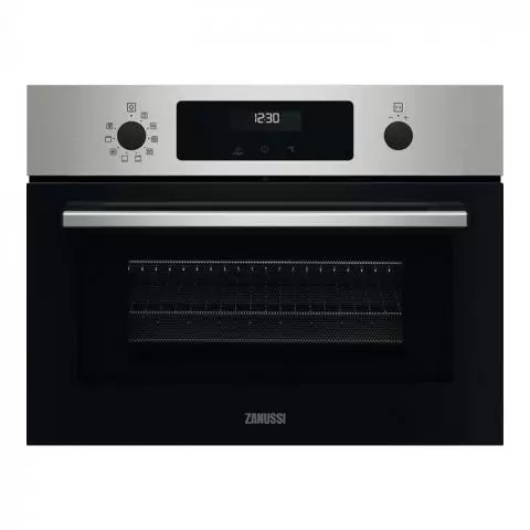 zanussi zvenm6x2 series 60 cookquick compact microwave oven stainless steel