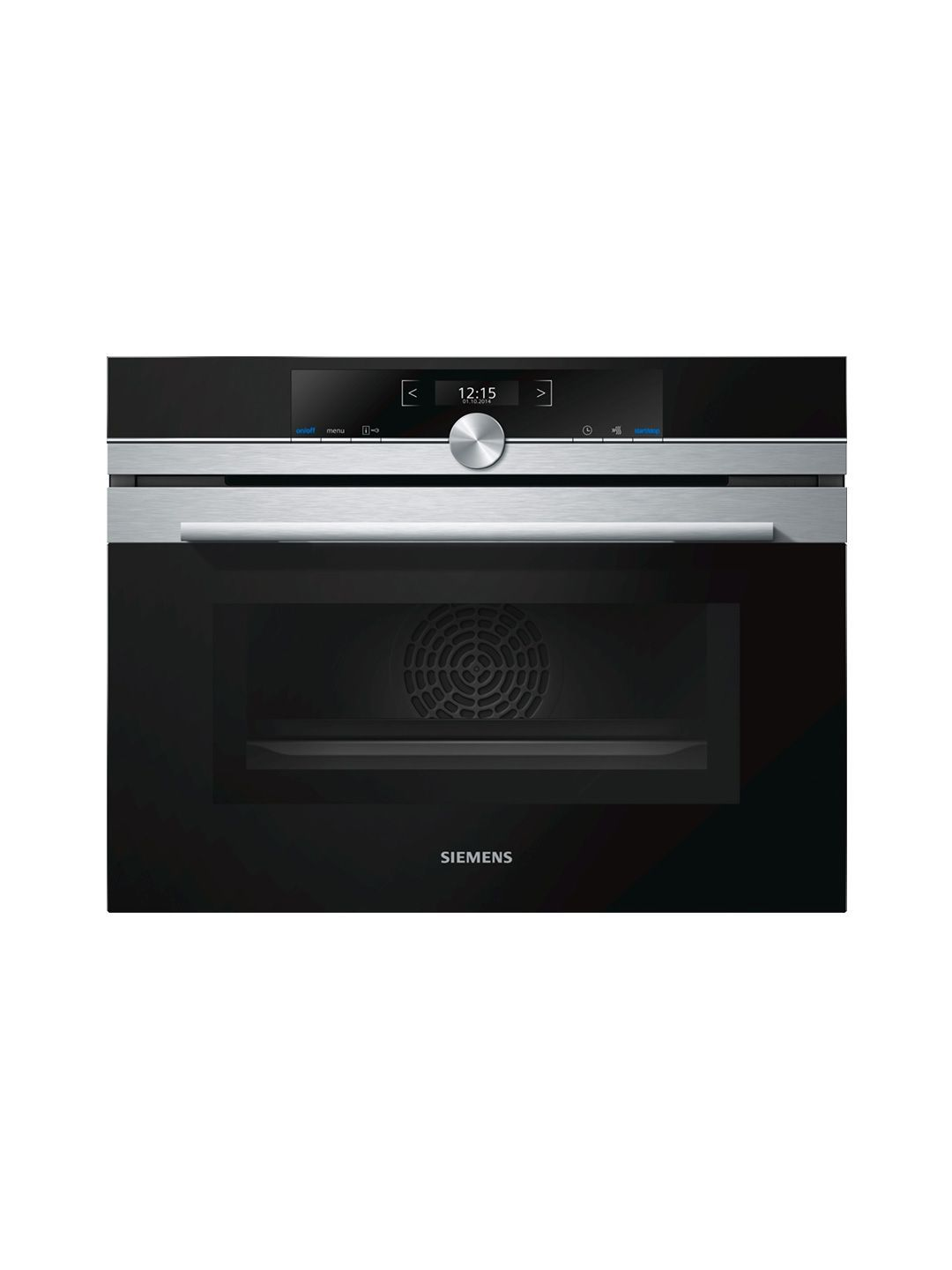 siemens cm633gbs1b iq700 built in combination microwave oven in stainless steel