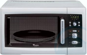 whirlpool microwave vt256wh