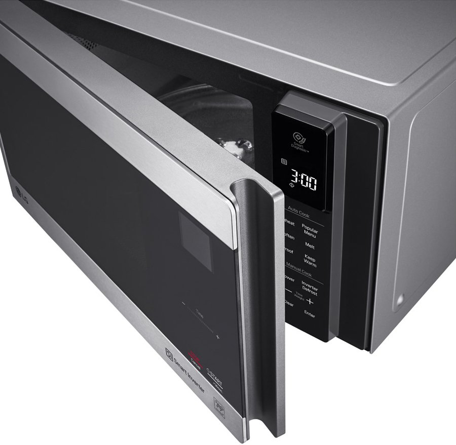 lg ms2596os 25l neochef smart inverter microwave oven 1000w