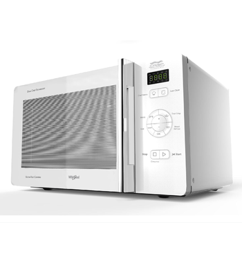 whirlpool mwc25wh 25l crisp grill microwave oven