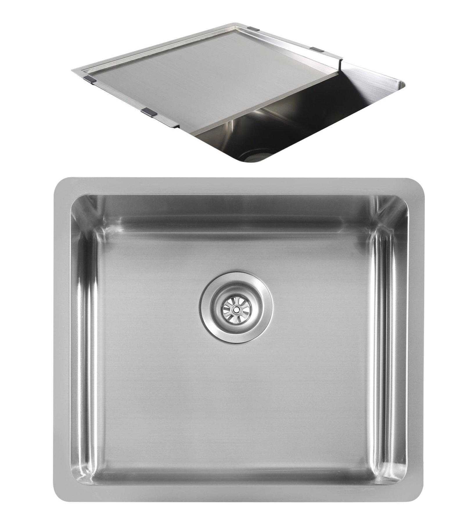 oliveri sn1050u sonetto single bowl undermount sink