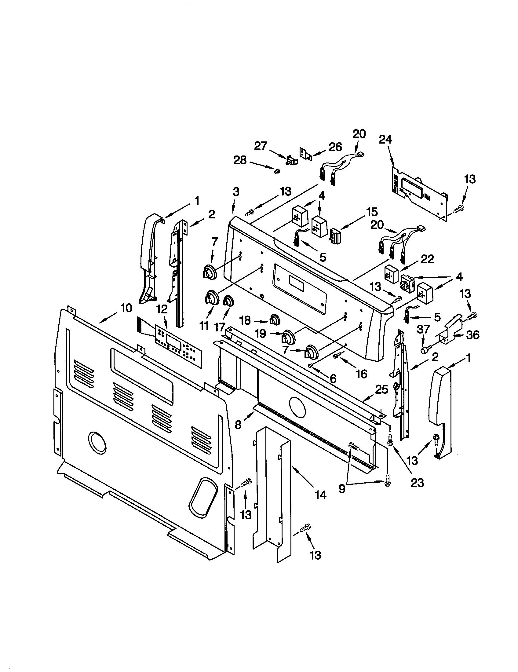 Kenmore Electric Range Timer