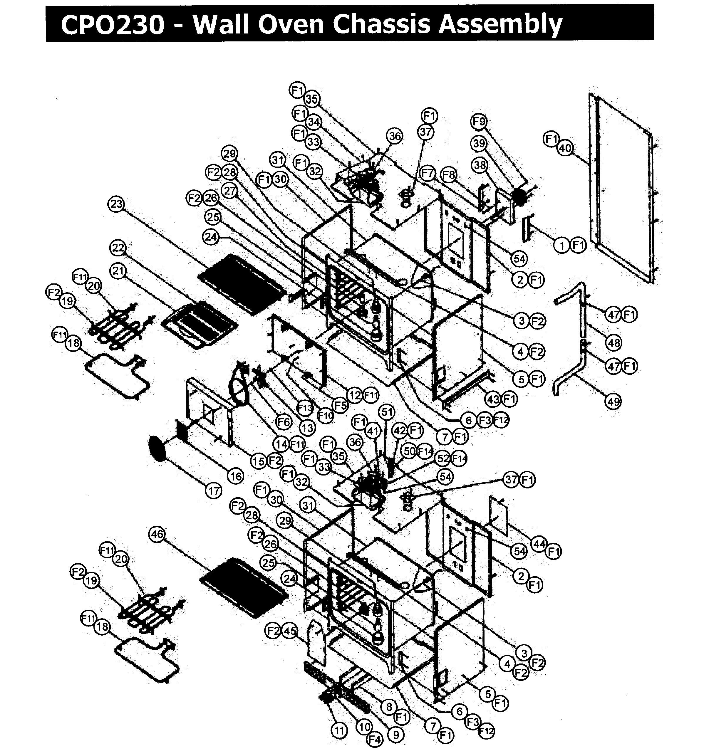 Dacor Cpo230 Wall Oven Timer