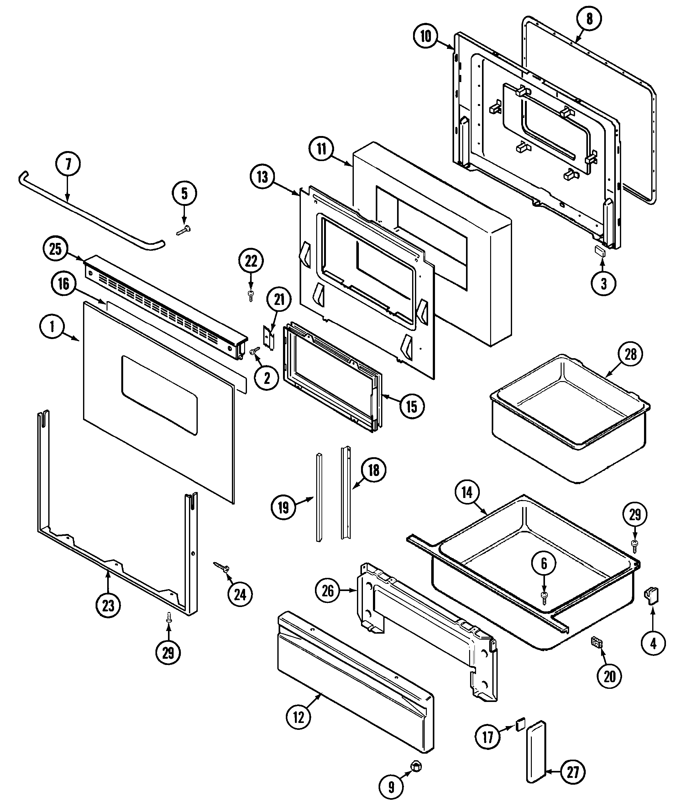 Maytag cre9400acl timer stove clocks and appliance timers cre9400acl range doordrawer parts diagram pooptronica choice image