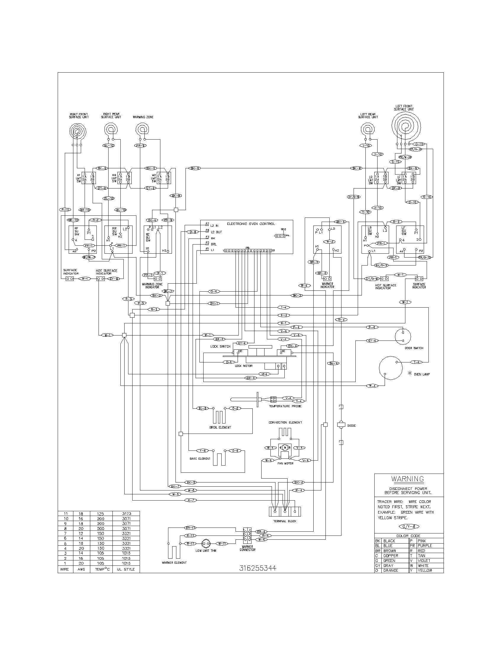 Frigidaire Fefl89ccb Electric Range Timer