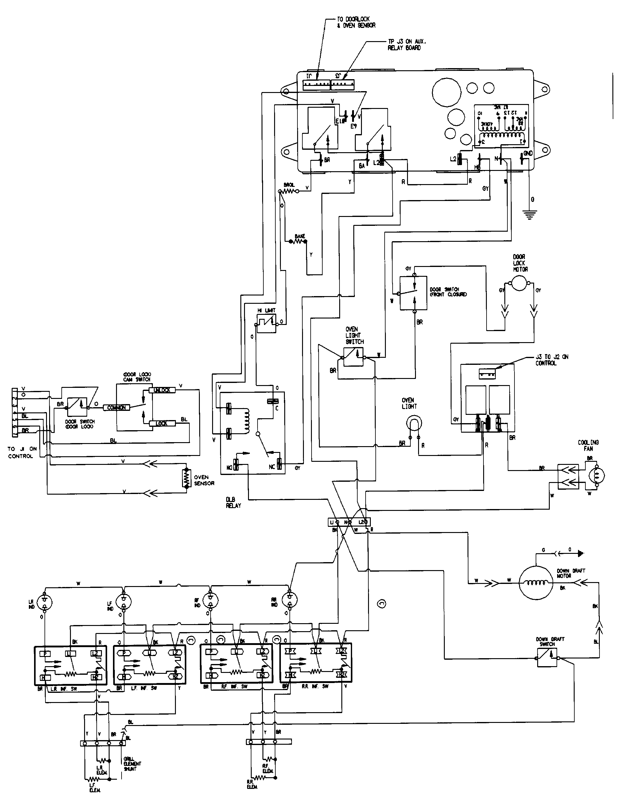 Wiring Diagram For Gas Top Stove