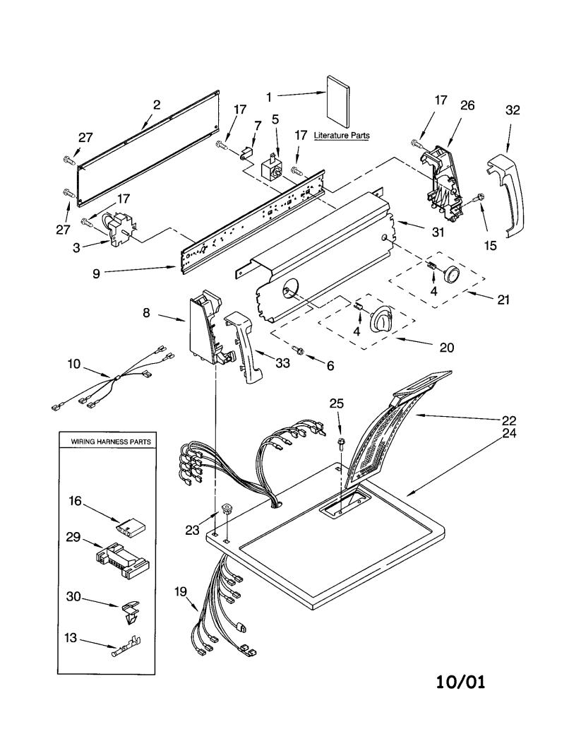 Wrg 4232 Kenmore Timer Wiring Diagram