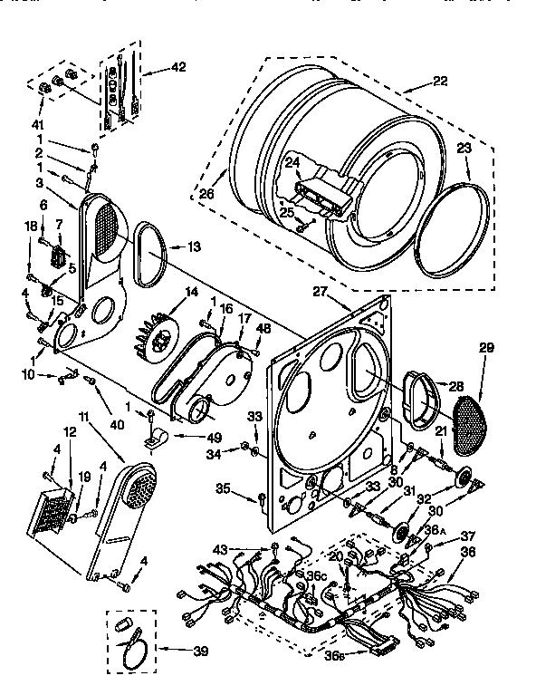 Kenmore Elite Oasis Dryer Parts
