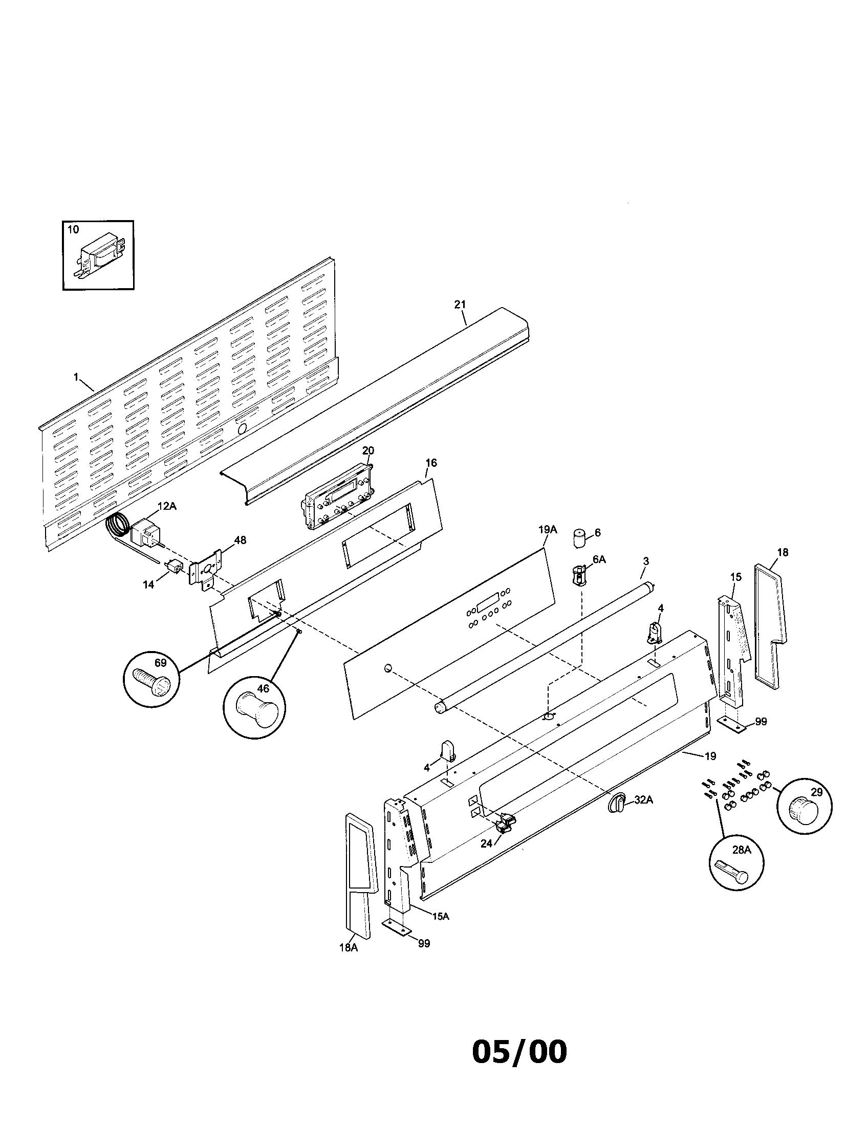 Oven Range Schematic