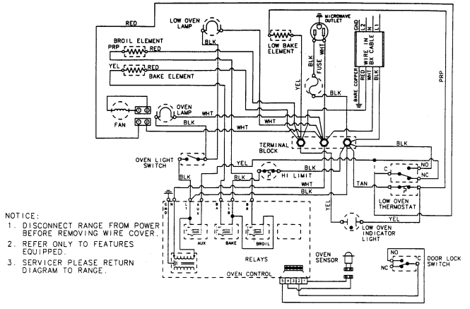 electric oven thermostat wiring diagram wiring diagram ge oven wiring diagram diagrams