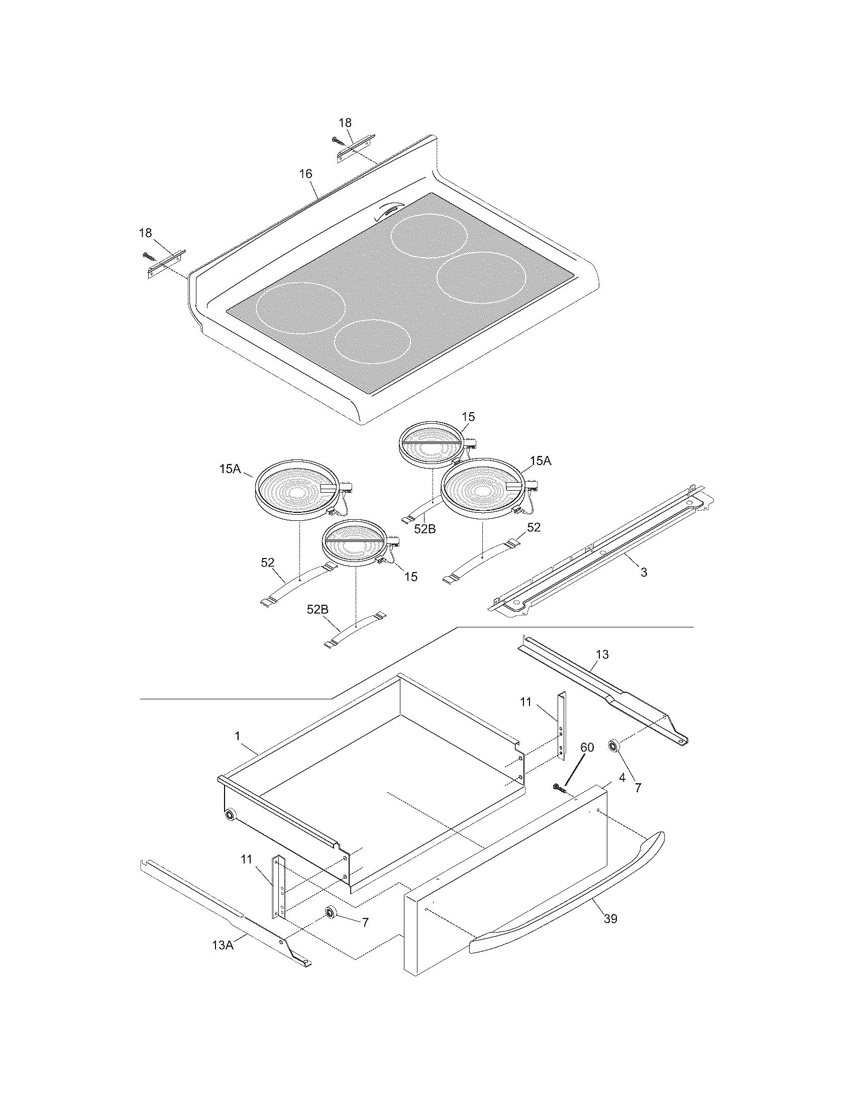 Frigidaire Cfef372bc1 Electric Range Timer