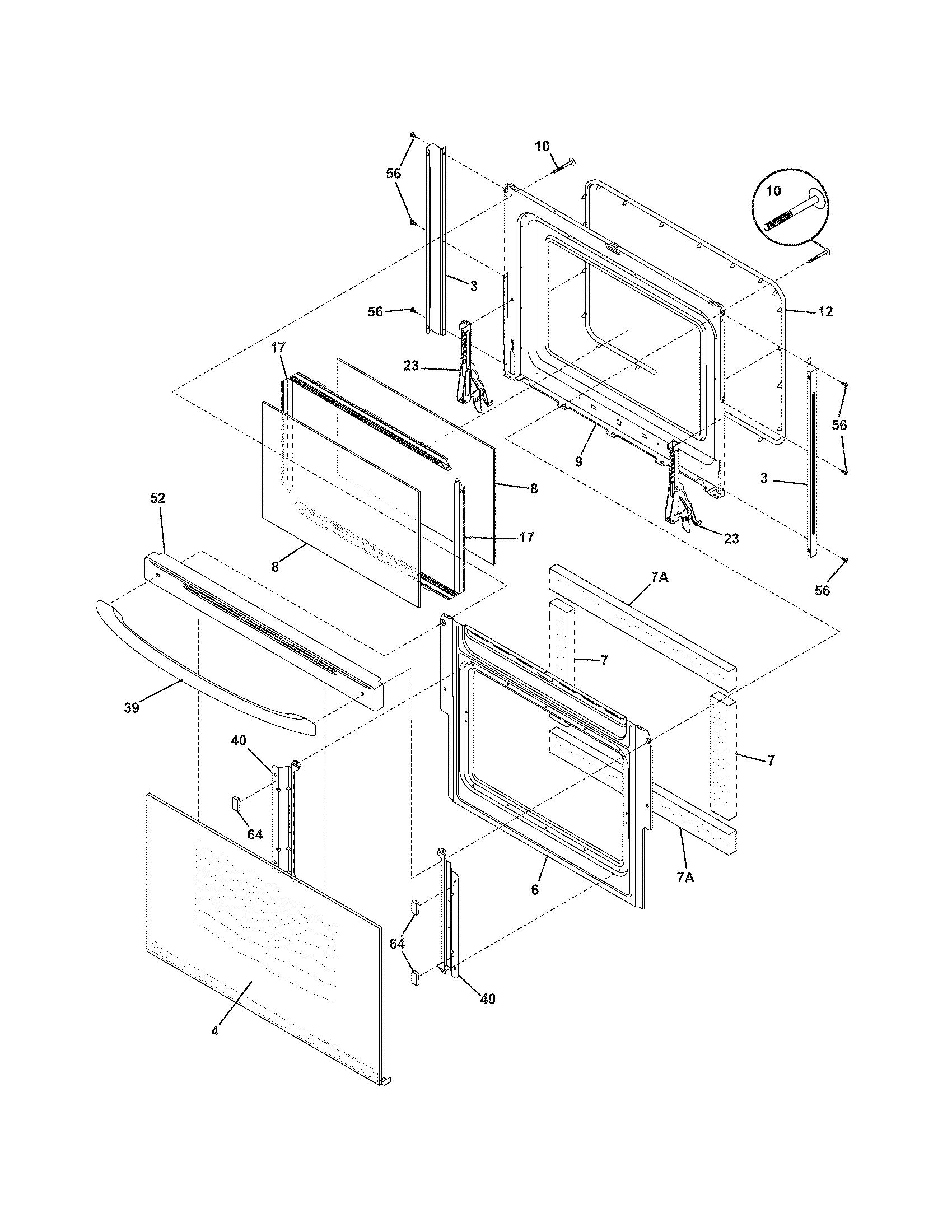 Frigidaire Cfef372cs2 Electric Range Timer
