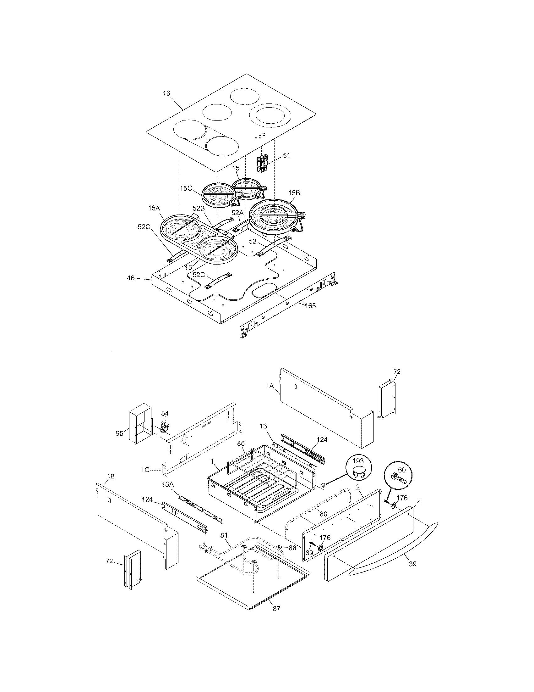 Frigidaire Cpes389cc2 Range Timer