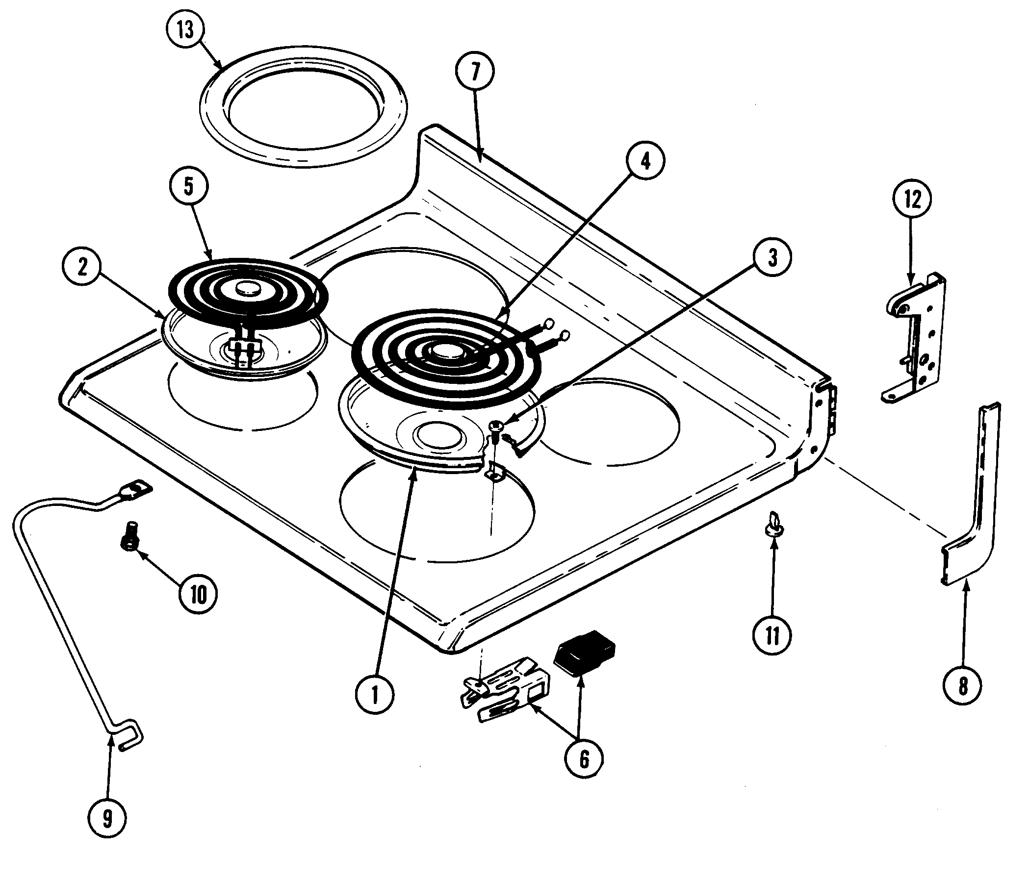 Stove Maytag Stove Parts