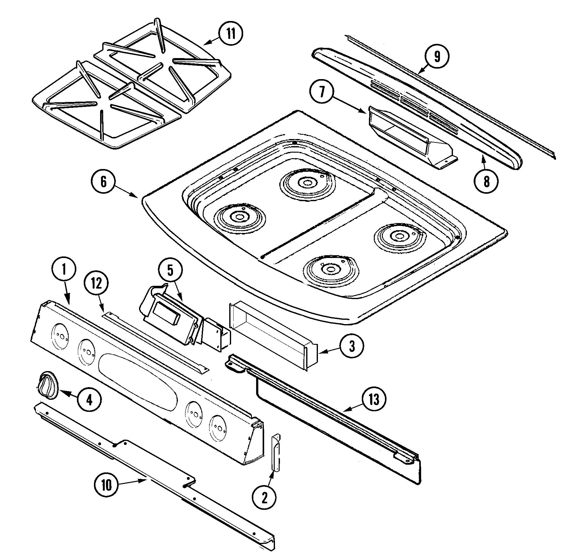 Gas Stove Gas Stove Parts Names