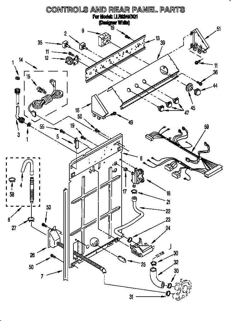 Hotpoint Washing Machine Parts Diagram