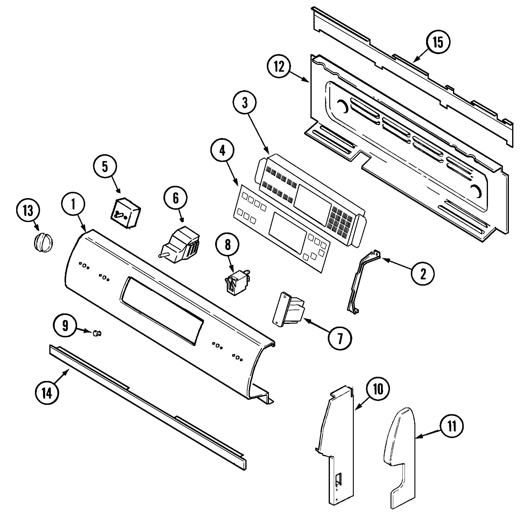 Maytag Surface Burner Wiring Diagram