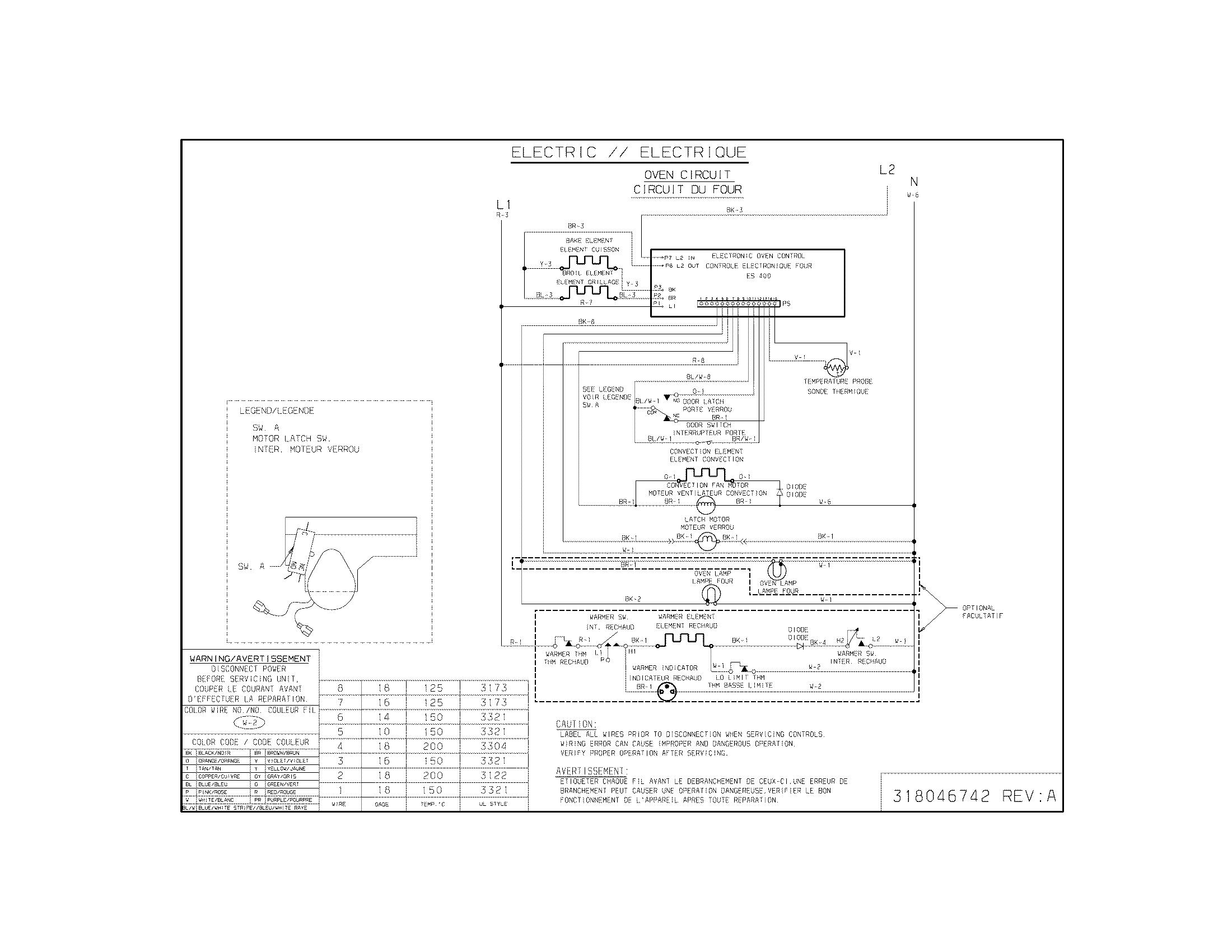 Electrolux Microwave Wiring Diagram - Wiring Diagram