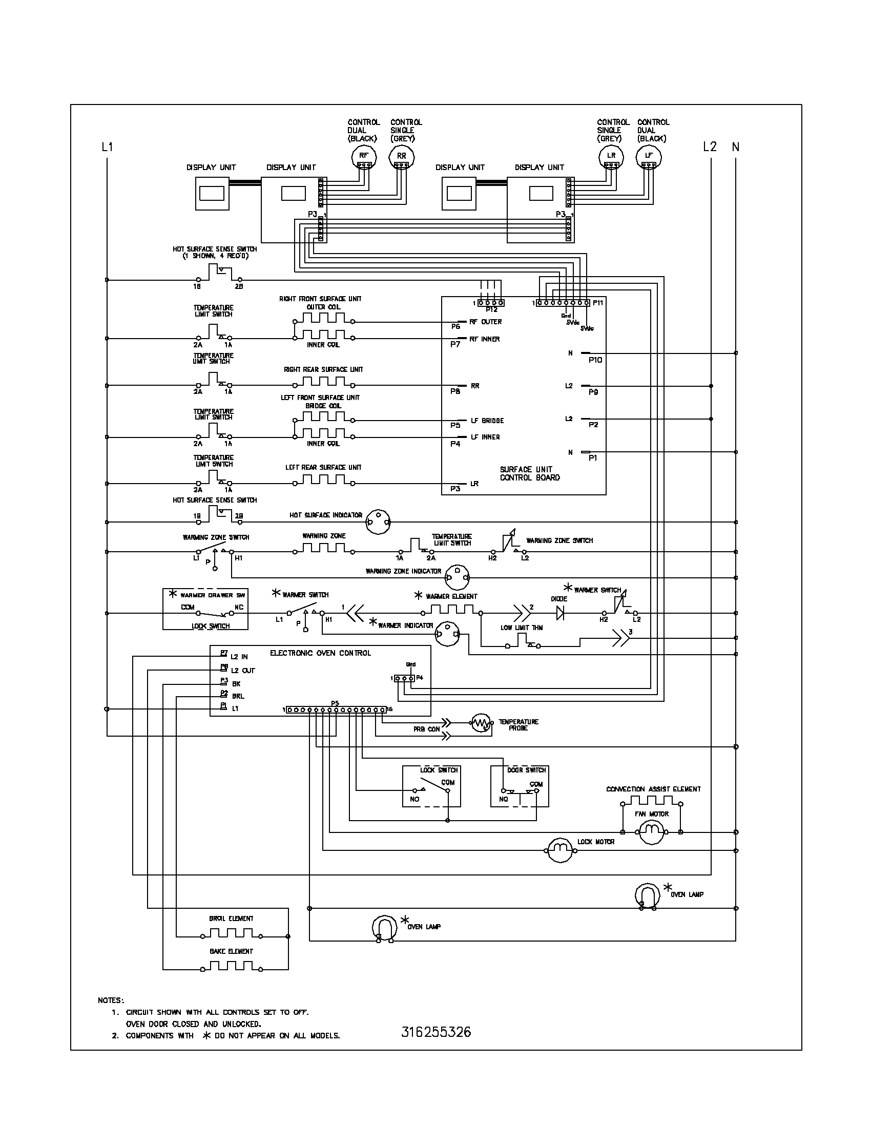 Wiring Diagram For Neff Oven electric stove wiring diagram