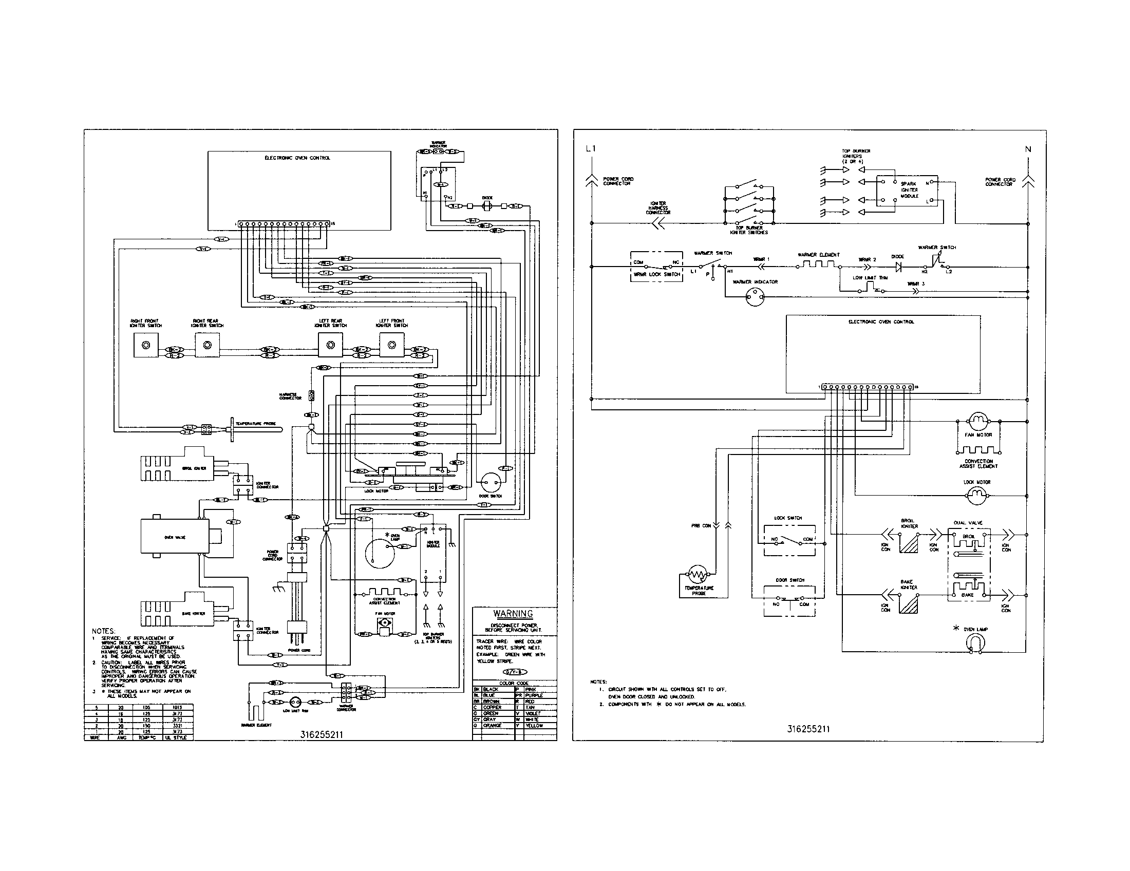 wiring schematic parts?resize\=665%2C513\&ssl\=1 electrolux double oven wiring diagram kenmore wall oven wiring oven wiring diagrams at soozxer.org