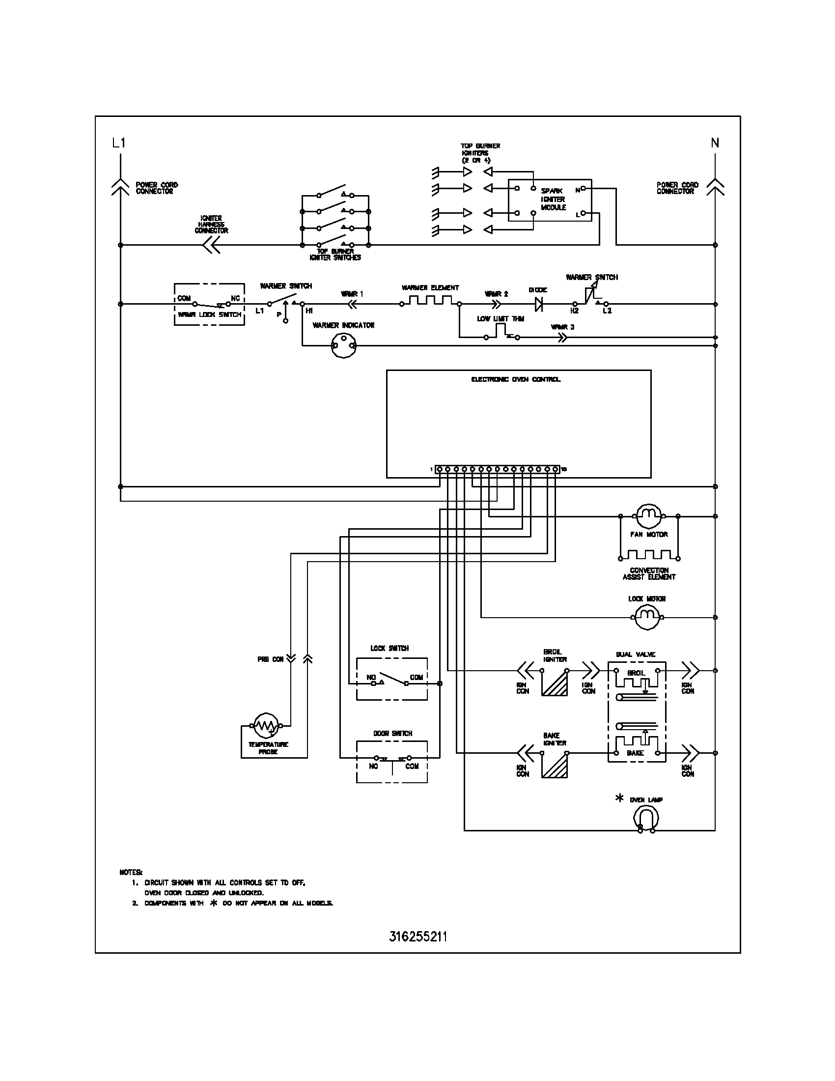 Wiring diagram for freezer thermostat free download wiring diagram free download wiring diagram frigidaire plgf389ccc gas range timer stove clocks and appliance of wiring swarovskicordoba Image collections