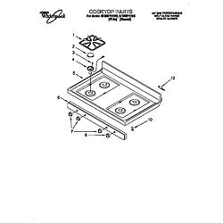 Whirlpool Super Capacity 465 Electric Range Parts List