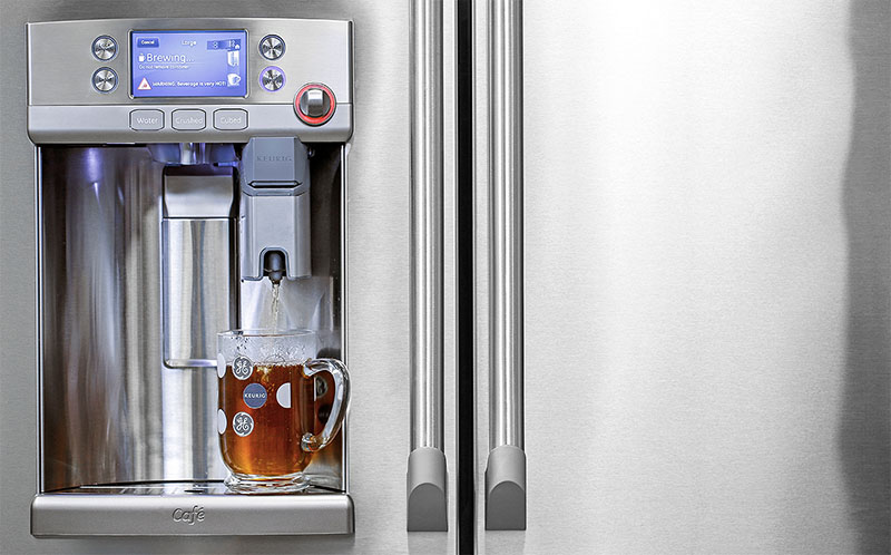 Brew A Cup Of Coffee With GEs Built In Keurig