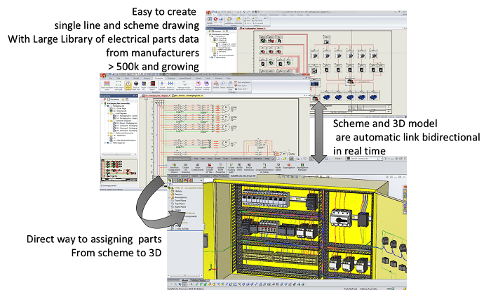 SolidWorks Electrical Schematic
