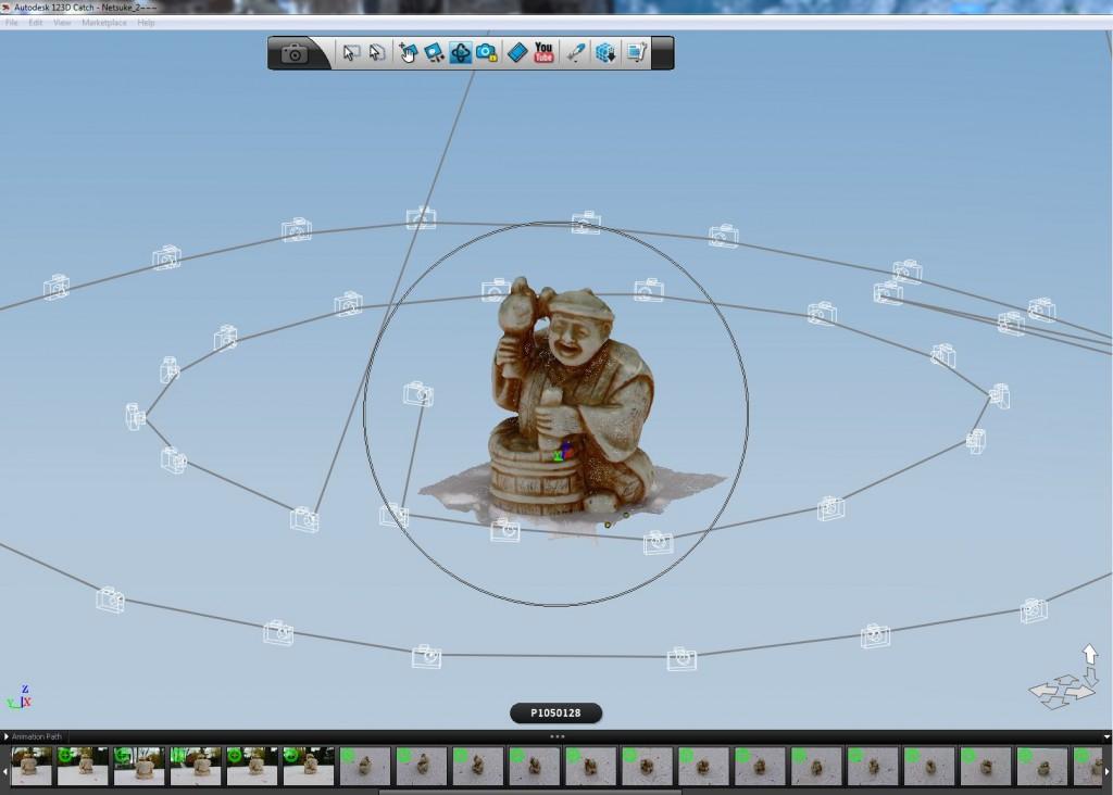Best 3D Printing Software #3: 123D Catch