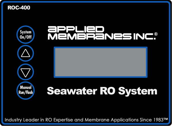 AMI ROC-400 Controller for Seawater RO System