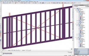 PERFORMANCE BASED DESIGN - X-Braced Shear Walls