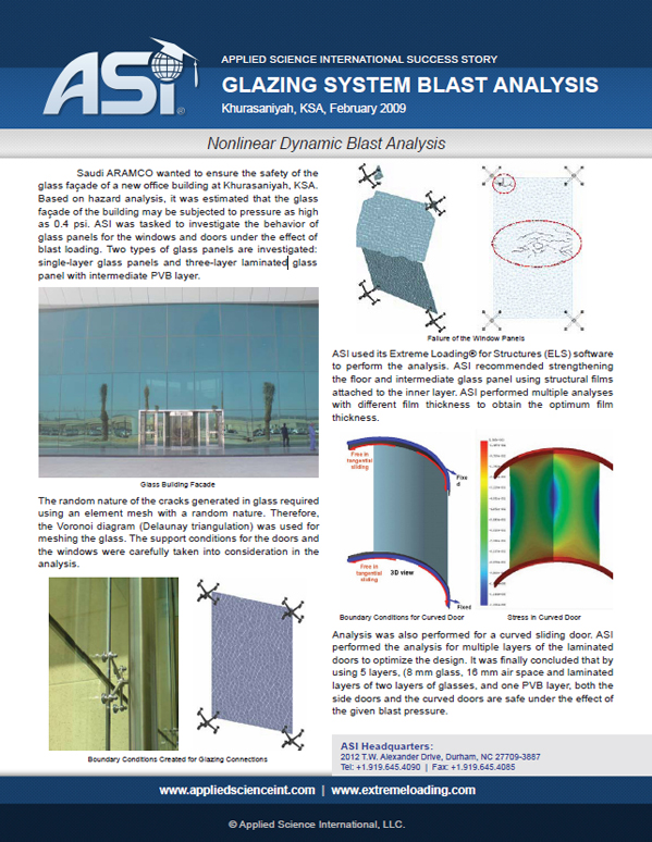 Blast Analysis of Building Glazing System (Thumb)