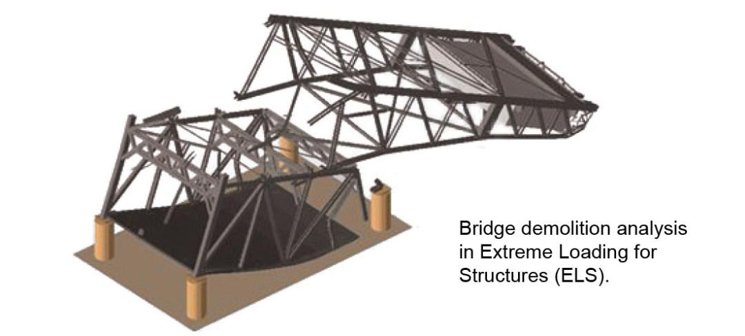 Structural Analysis - Tule Lake Lift Bridge Implosion Simulation - Applied Science International